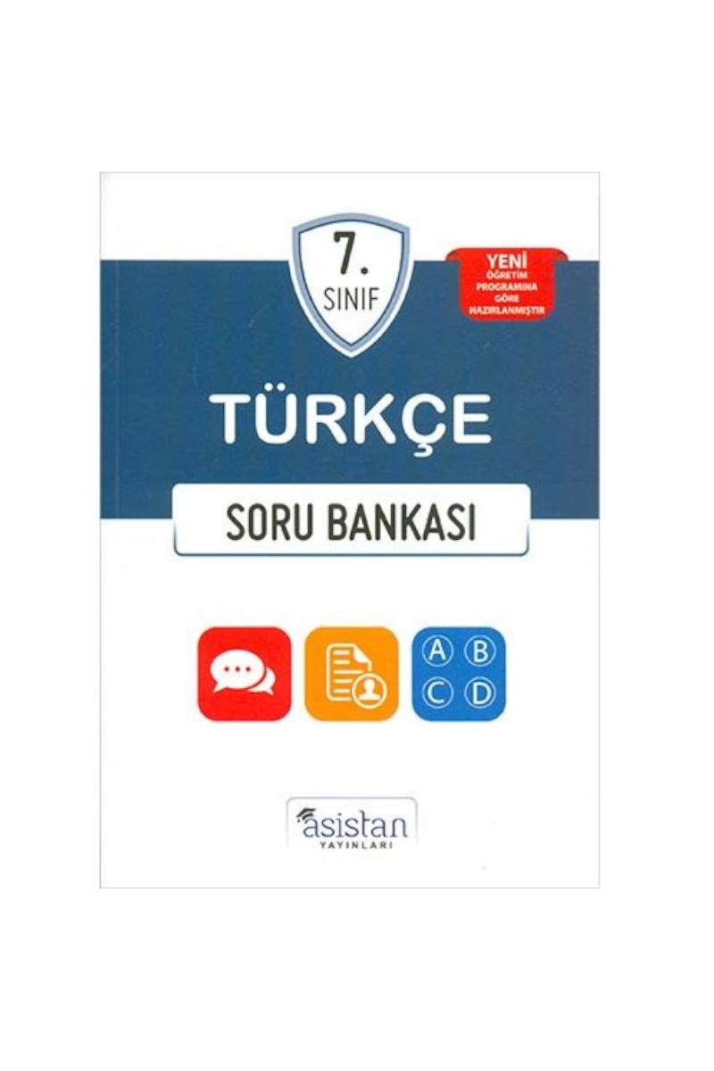 Asistan 7.Sınıf Türkçe Soru Bankası