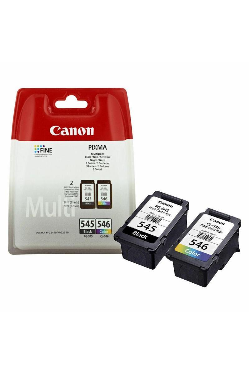 Canon Pg-545/Cl-546 Multipack Mürekkep Kartuş 2'li