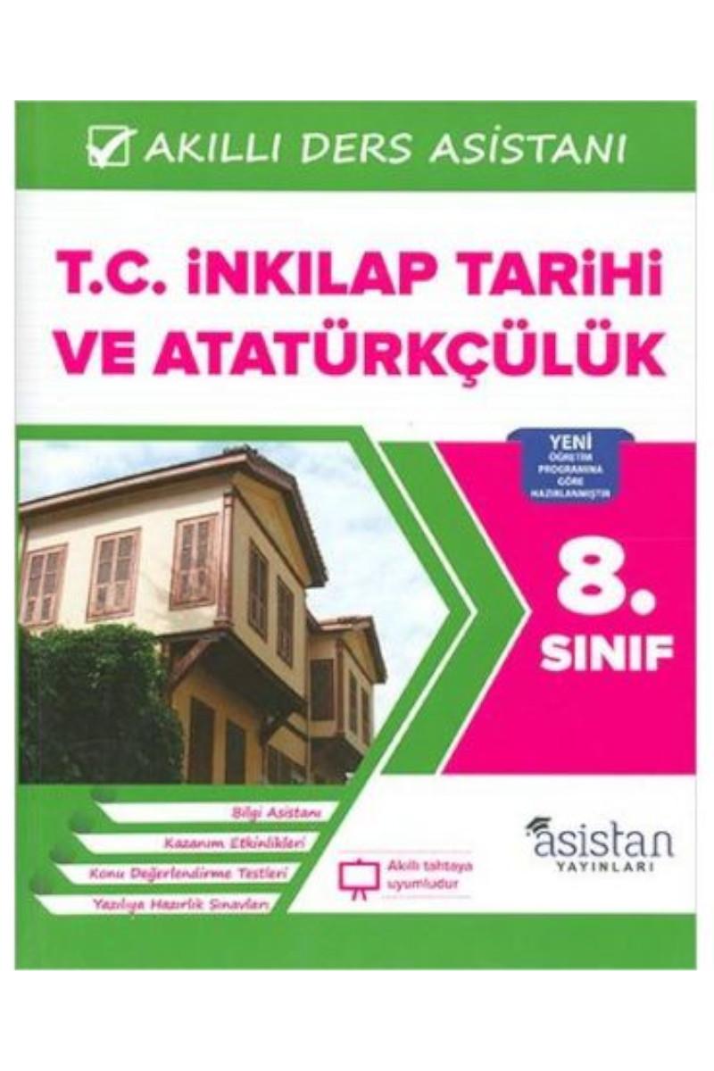 Asistan 8. Sınıf TC. İnkılap Tarihi ve Atatürkçülük Akıllı Ders Asistanı