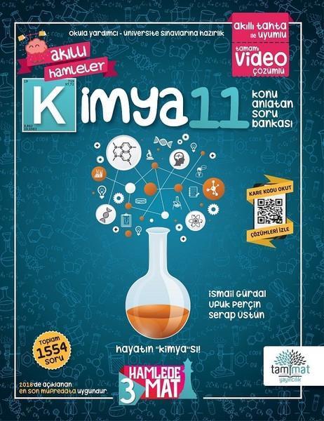 Tammat Yayınları 11.Sınıf Kimya Konu Anlatan Soru Bankası