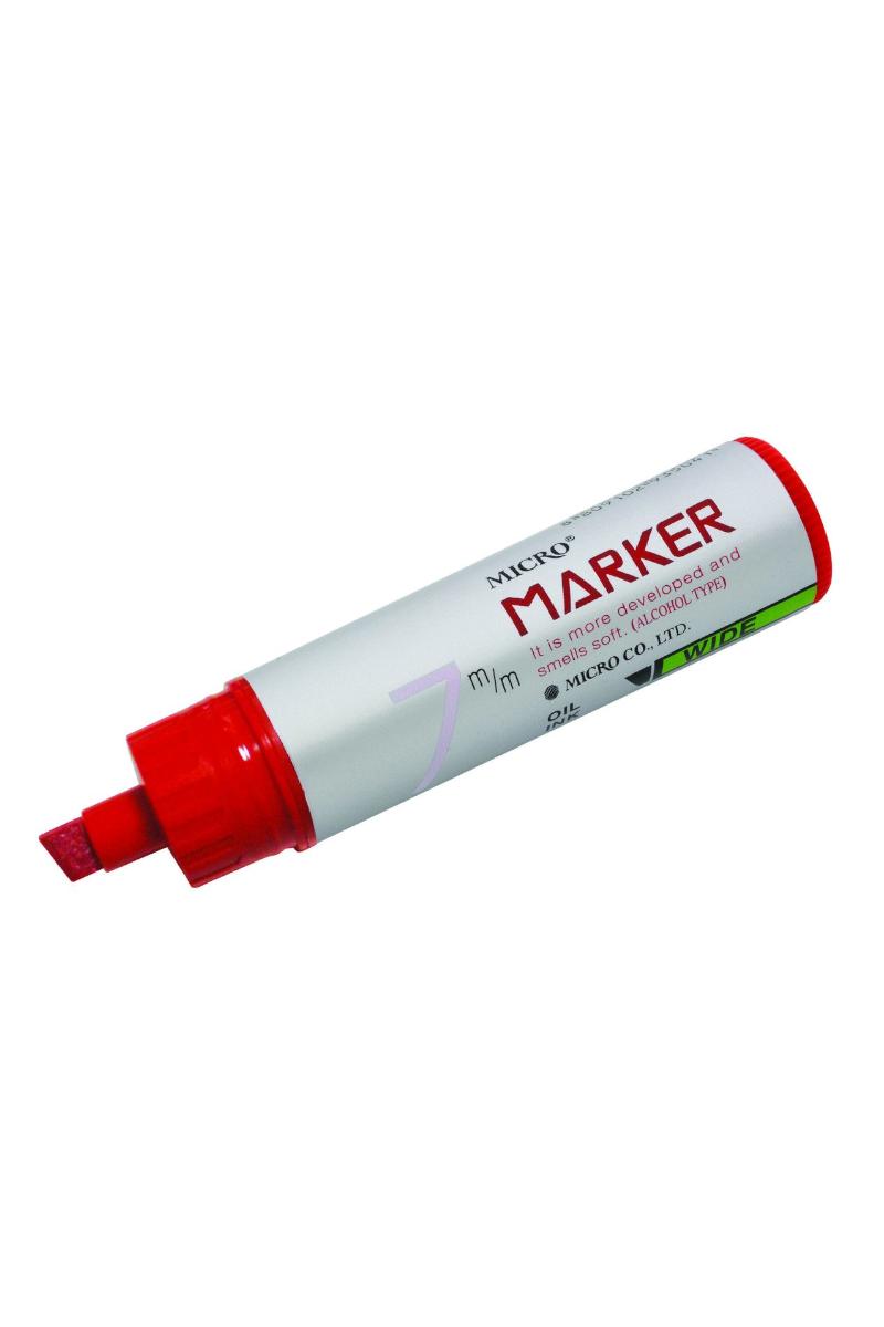 Mikro 7 Mm Kırmızı Permanent Markör