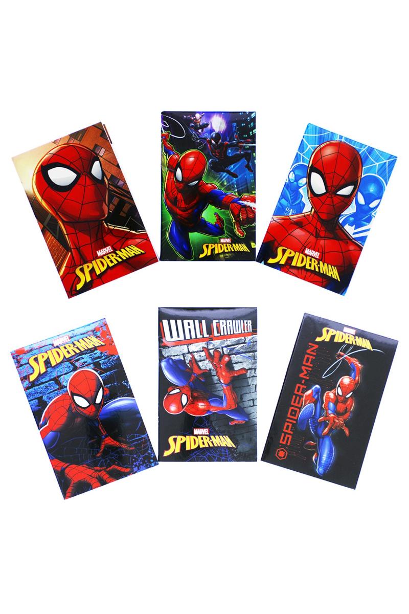 K.Color Spider-Man Standart İkili Bloknot