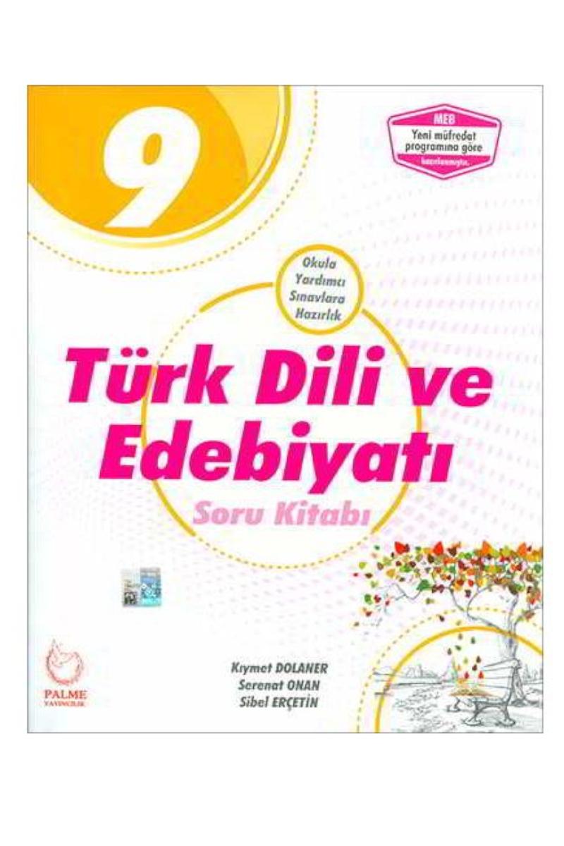 Palme 9.Sınıf  Türk Dili Edebiyatı Soru Bankası