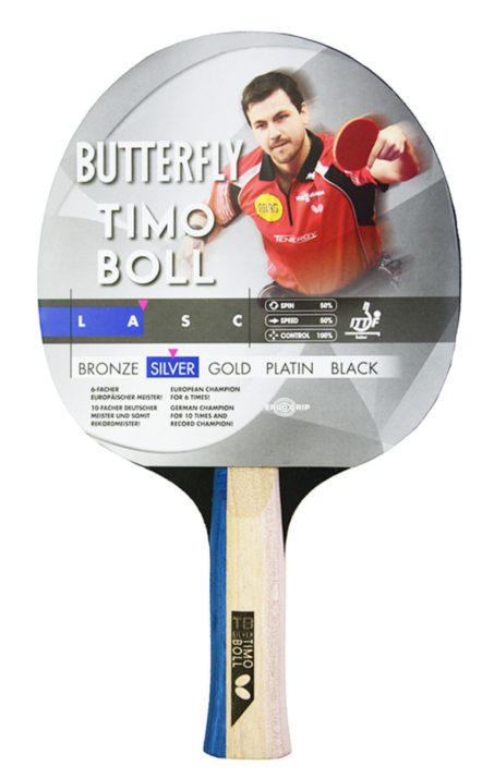 85016 BUT. TIMO BOLL SILVER PP RAKET