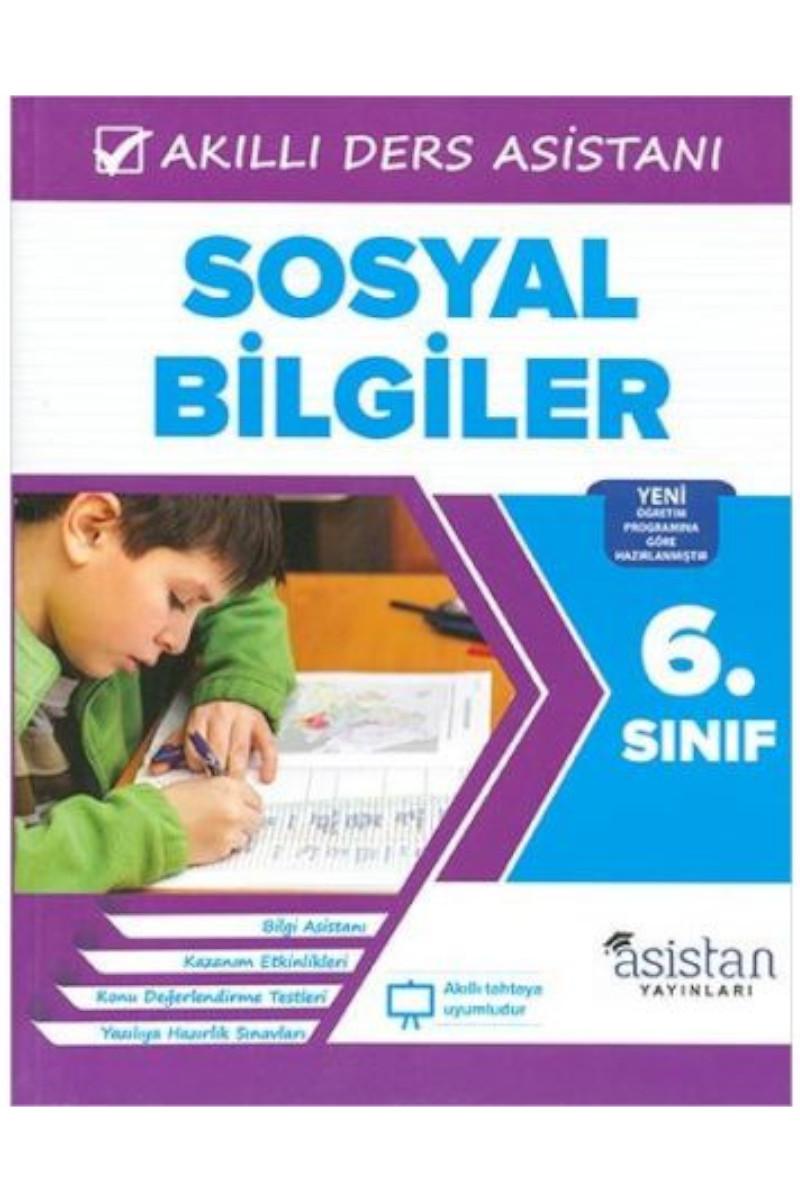 Asistan 6. Sınıf Sosyal Bilgiler Akıllı Ders Asistanı
