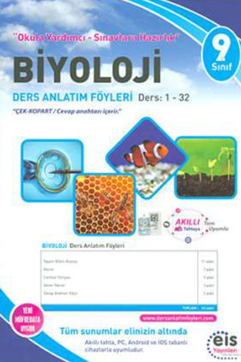 Eis 9. Sınıf Biyoloji DAF Ders Anlatım Föyleri 1-32