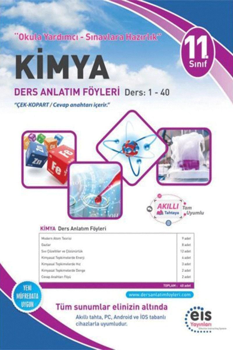 Eis 11. Sınıf Kimya DAF Ders Anlatım Föyü 1-40