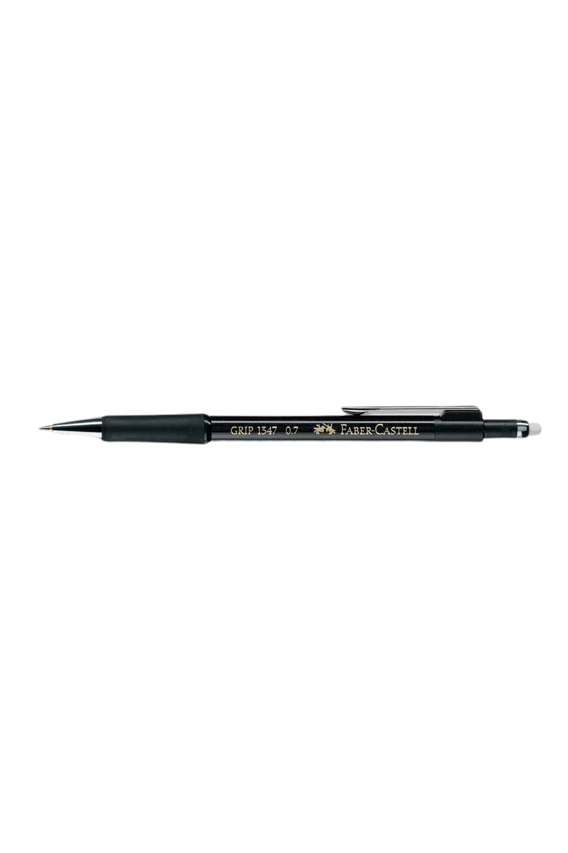 Faber Castell Versatıl Kalem Grıp 1347 0,7 Mm Siyah