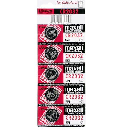 Maxell CR 2032 kumanda Alarm pili lithium battery