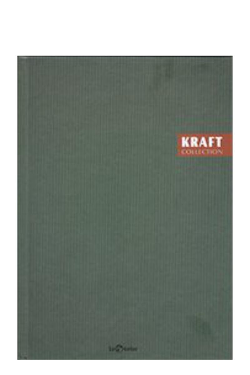 Le Color Kraft Ciltli Çizgili Defter 17x24 96 Yaprak