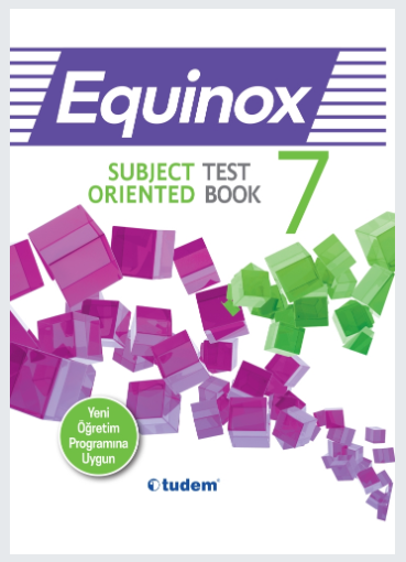 Tudem 7.Sınıf Equinox Subject Oriented Test Book