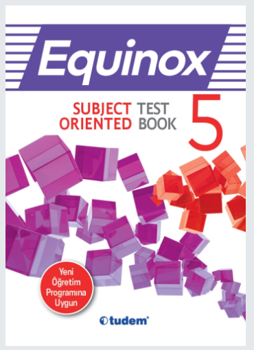 Tudem 5.Sınıf Equinox Subject Orıented Test Book