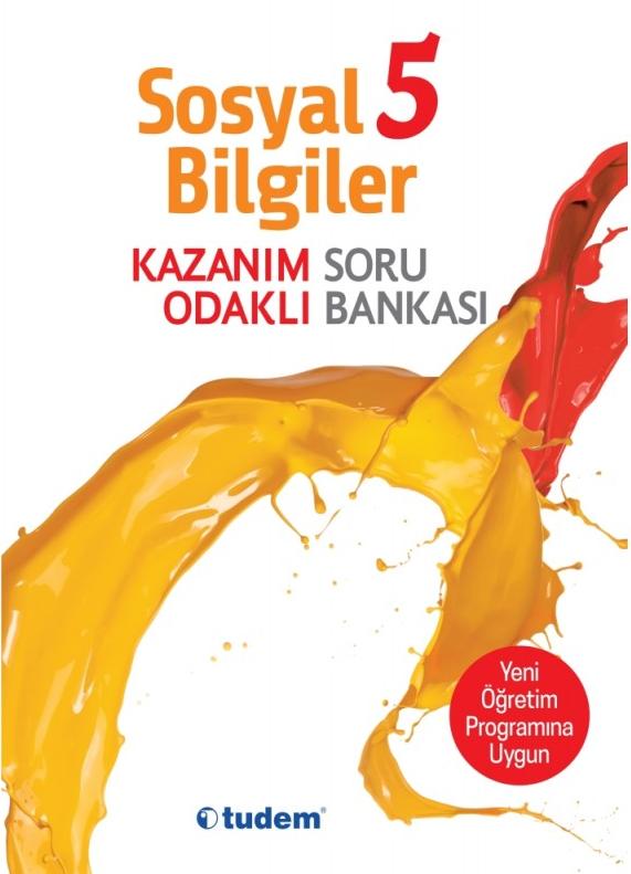 Tudem Yayınları 5. Sınıf Sosyal Kazanım Odaklı Soru Bankası