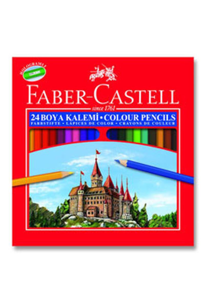 Faber Castell Kuru Boya 24 Renk Tam Boy