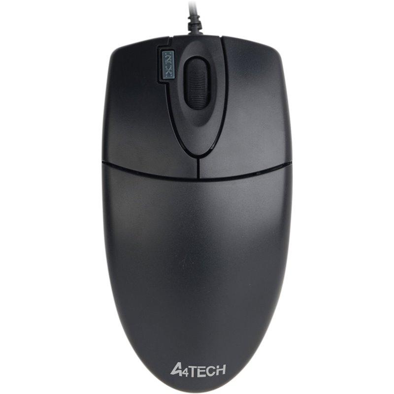 A4-Tech Mouse OP-620D USB Siyah Kablolo