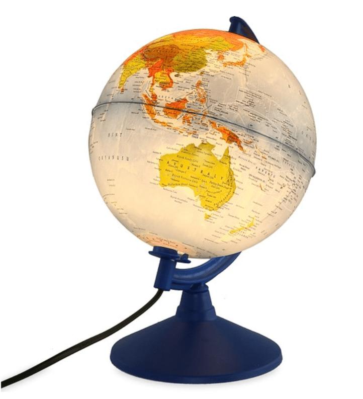 Gürbüz Işıklı Fiziki + Siyasi Küre 26cm