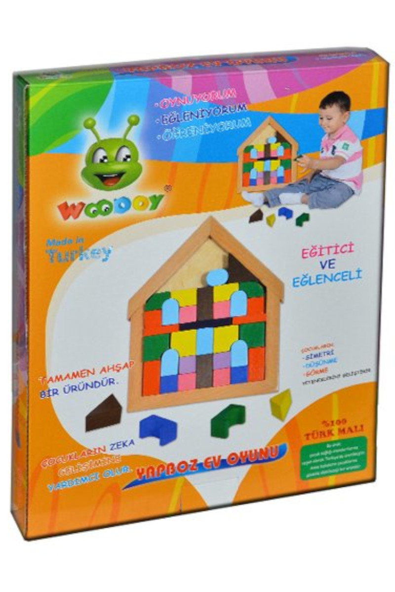 Woodoy Yapboz Ev Oyunu Kr077