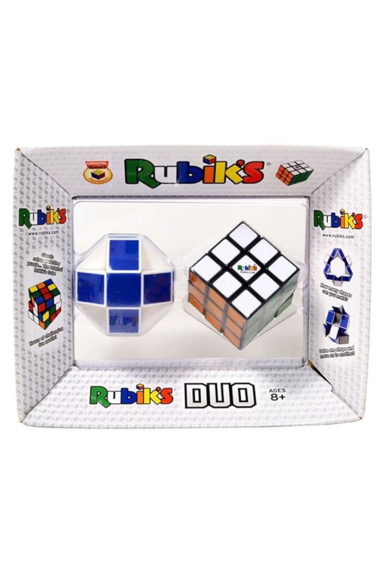 Rubiks Duo Retro 7871