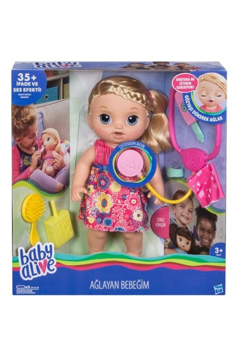 Hasbro Baby Alive Ağlayan Bebeğim