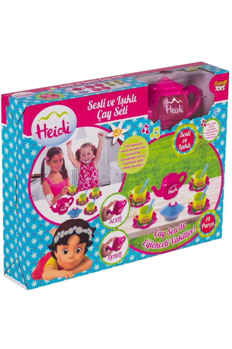 Heidi Sesli Ve Işıklı Demlikli Çay