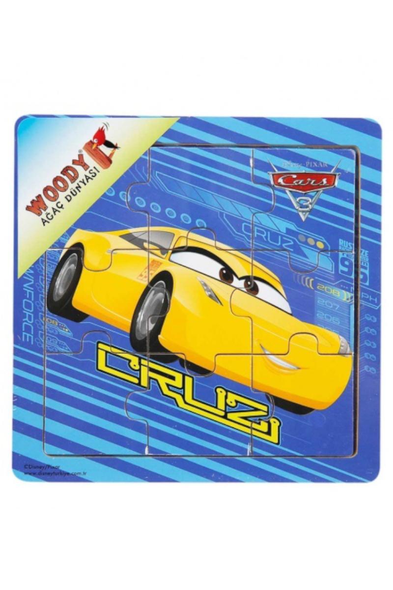 Ahşap Puzzle 3 Pcs Cars 3