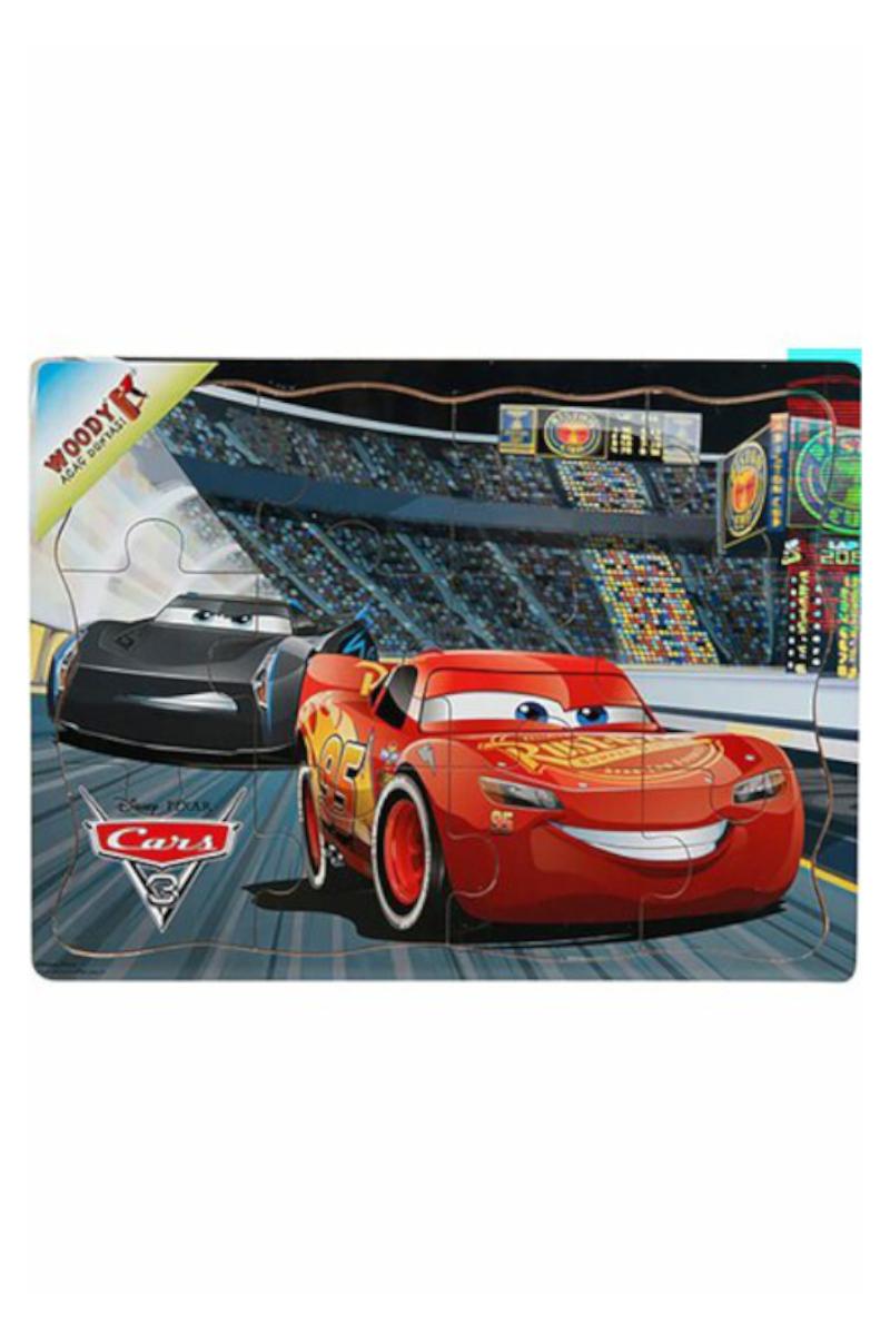 Ahşap Puzzle 12 Pcs Cars