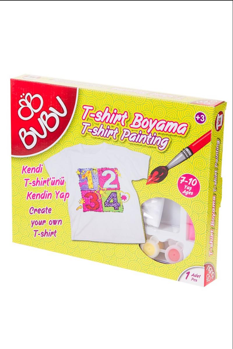 BU-BU T-Shirt Boyama 7-10 Yaş