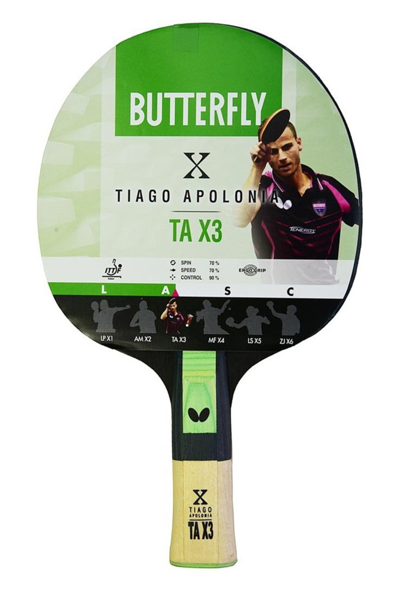 Butterfly Tiago Apolonia Masa Tenisi Raketi