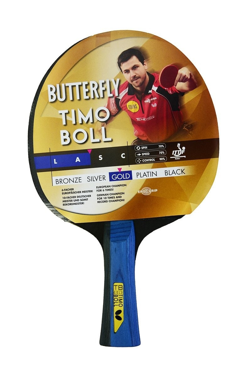 Butterfly 85021s Timo Boll Gold P.P. Raket