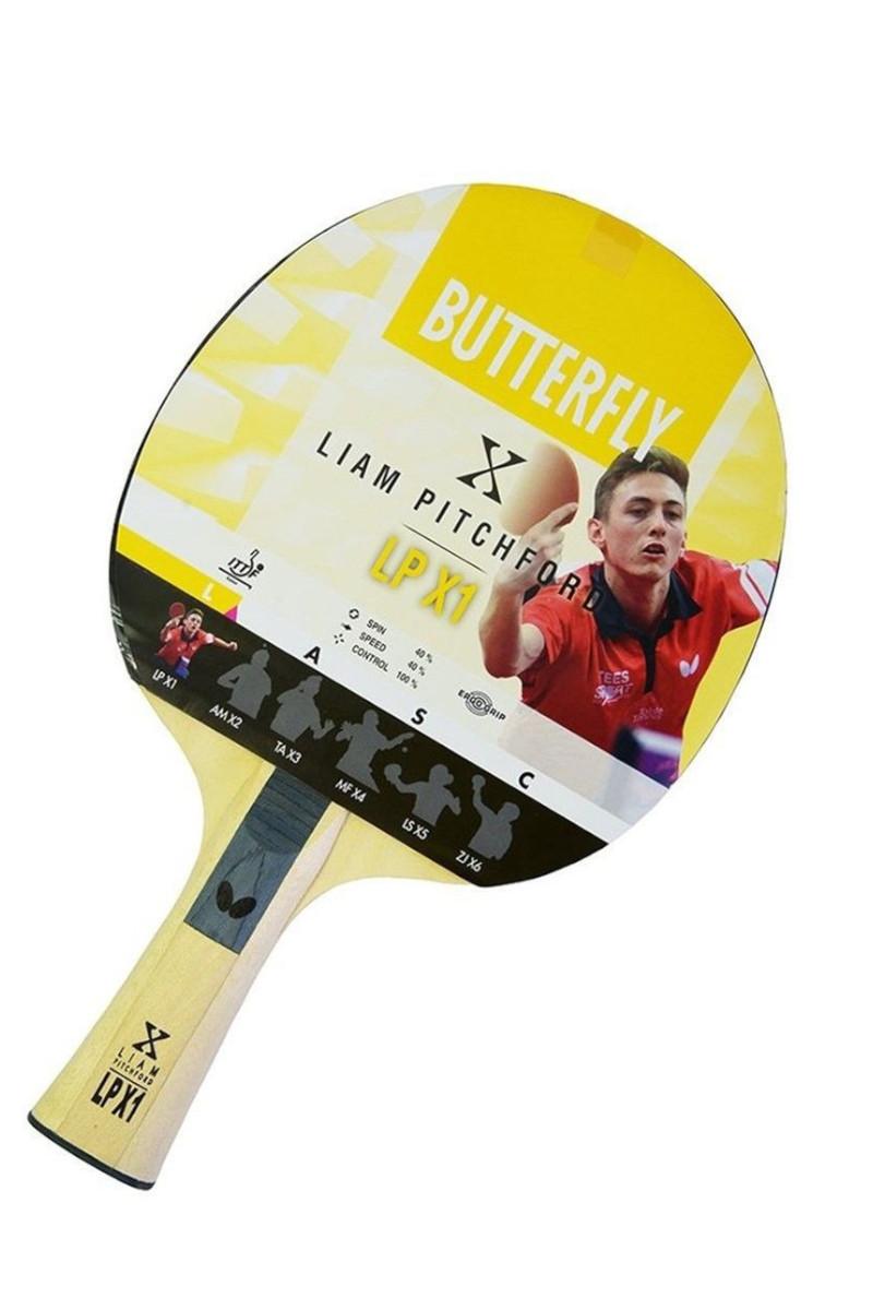 Butterfly Liam Pitchford LP X1 Masa Tenisi Raketi