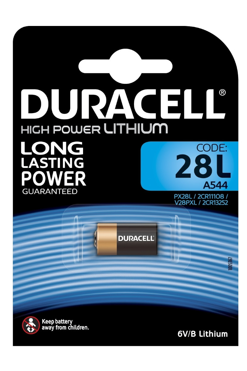 Duracell Lithium High Power Kamera Pili 28L 6 Volt