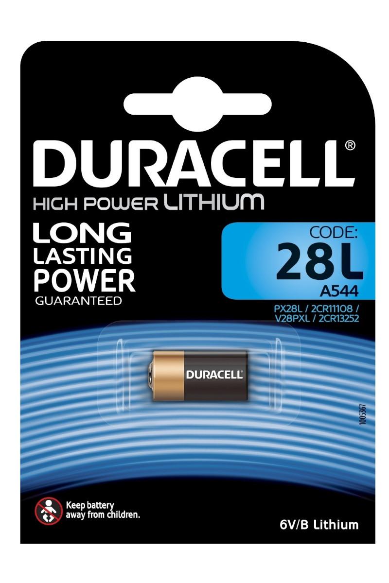 Duracell Lithium High Power Kamera Pili 28L 6 Volt