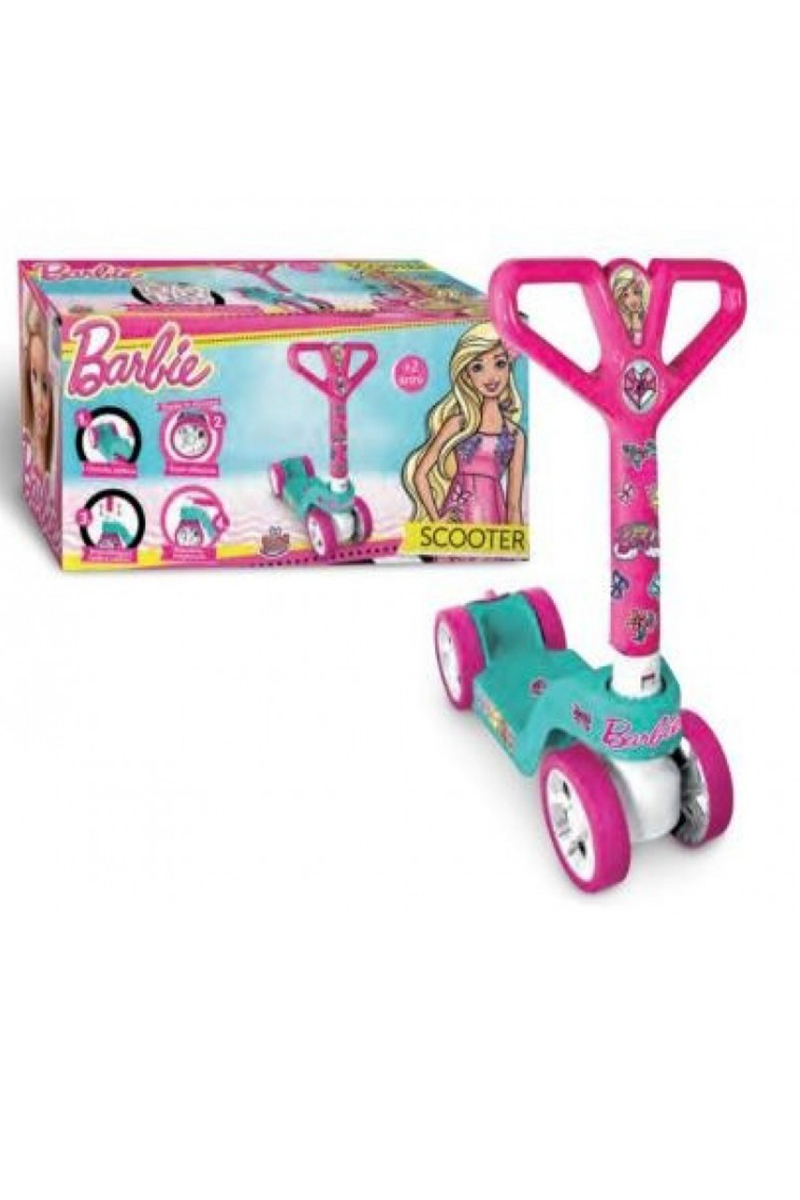 Barbie 4 Teker Scooter