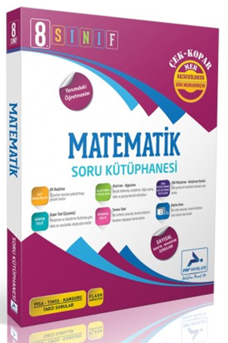 Paraf 8. Sınıf Matematik Soru Kütüphanesi