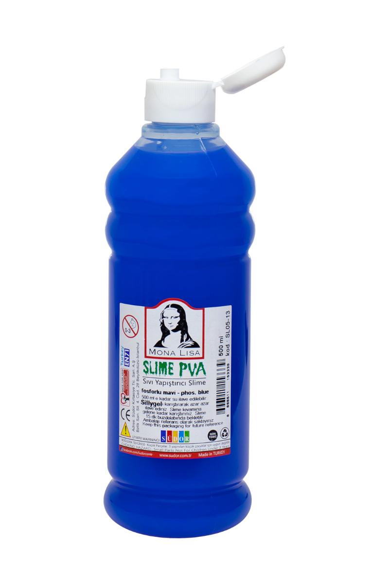 Mona Lisa Slıme Sıvı Yapıştırıcı 500 Ml. Fos.Mavi