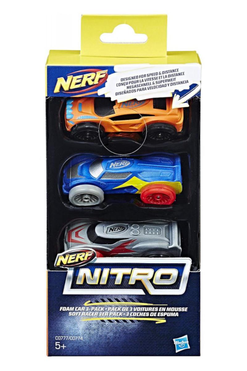 Hasbro Nerf Nıtro Araba 3'lü Paket