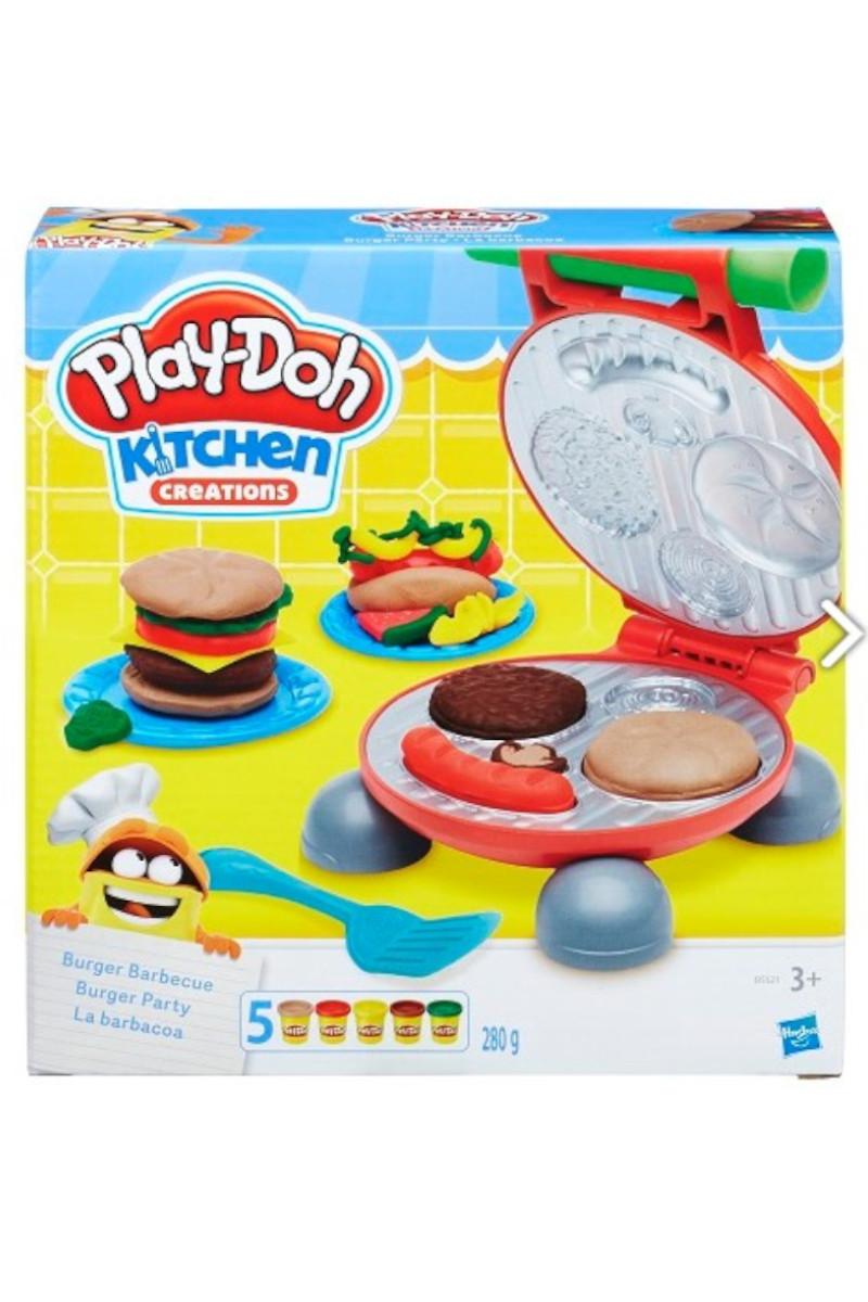 Hasbro Play-Doh Yaratıcı Mutfağım Burger Set
