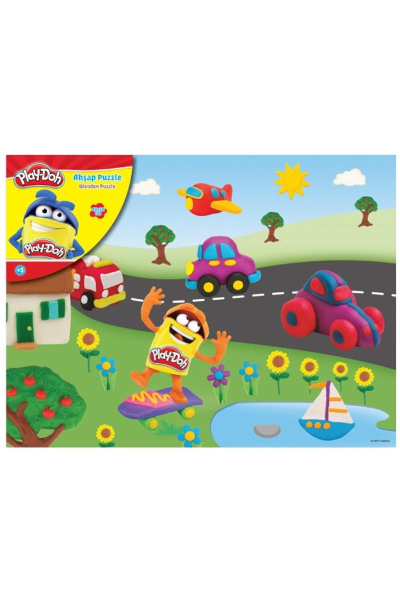 Play-Doh 40x30 Cm Ahşap Puzzle