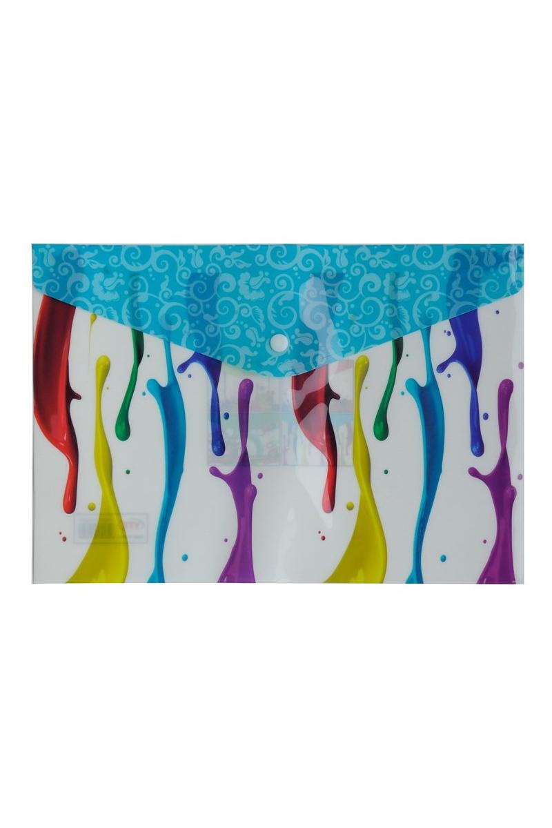 Vtk Desenli A4 Çıtçıtlı Dosya