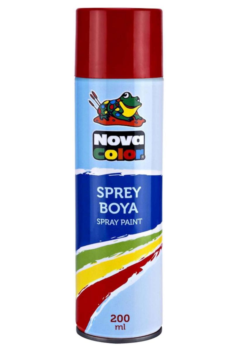 Nova Color Sprey Boya Kırmızı