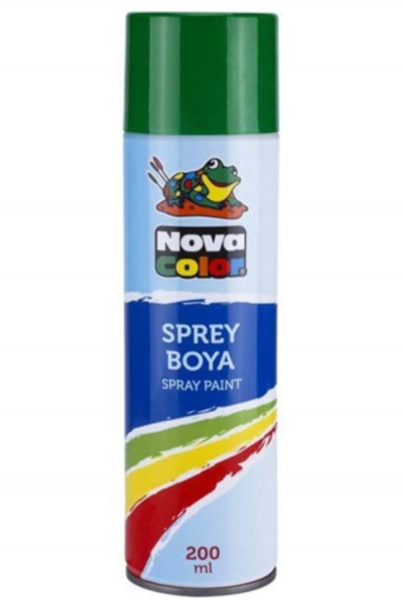 Nova Color Sprey Boya Yeşil