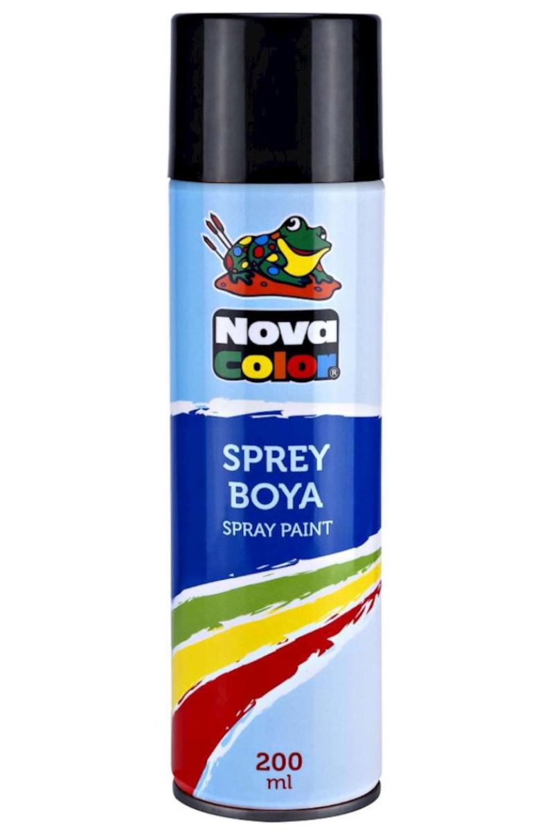 Nova Color Sprey Boya Siyah