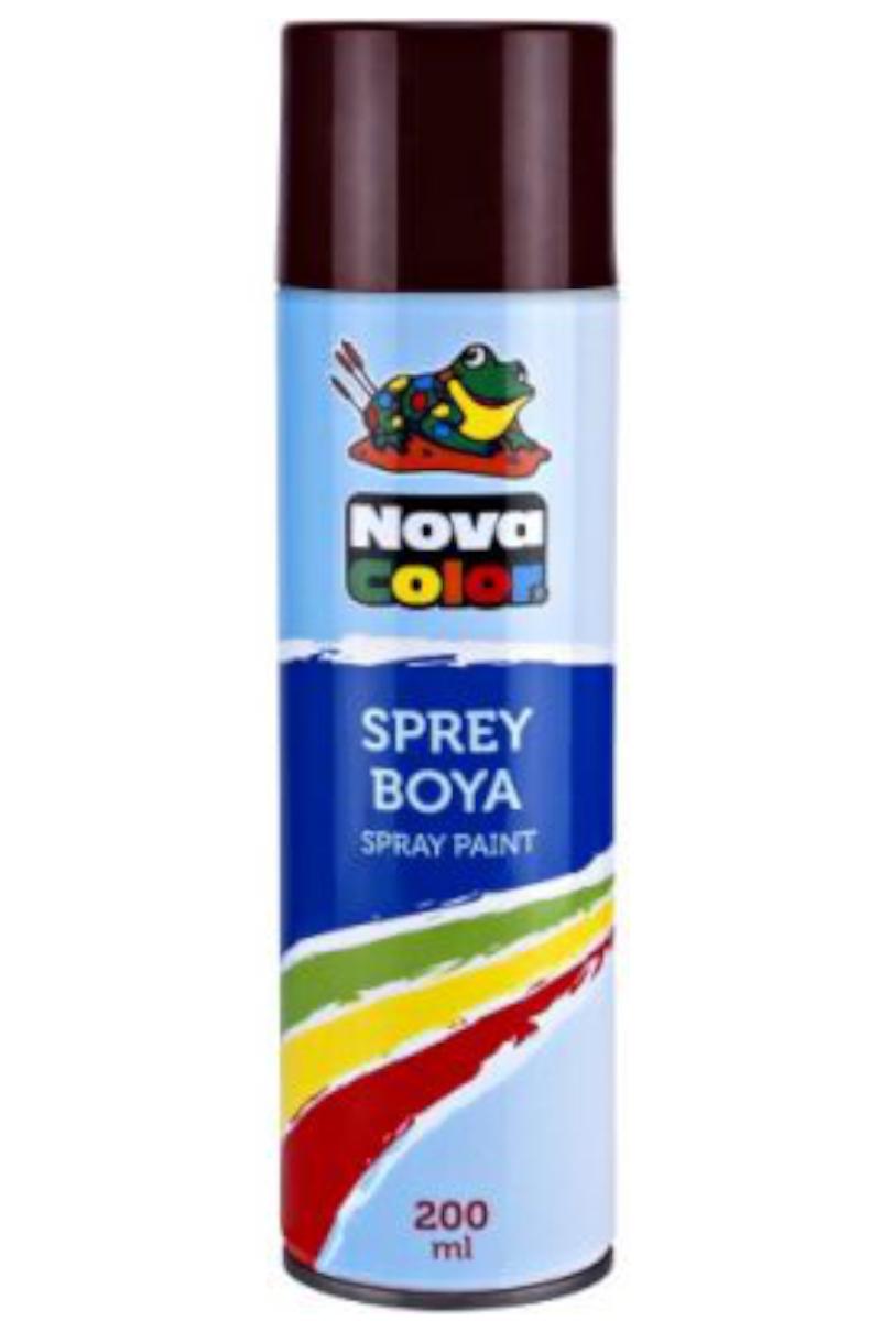 Nova Color Sprey Boya Kahverengi