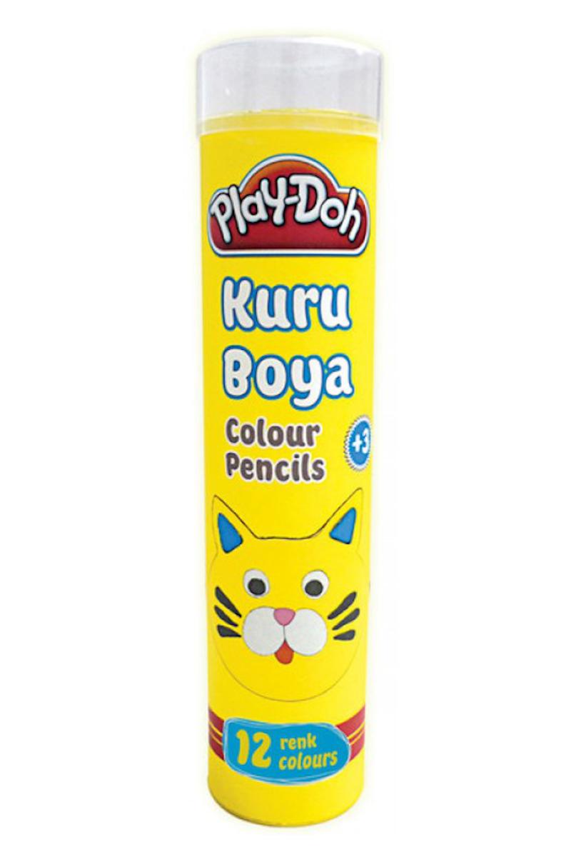 Play-Doh Tüp Kuru Boya 12 Renk
