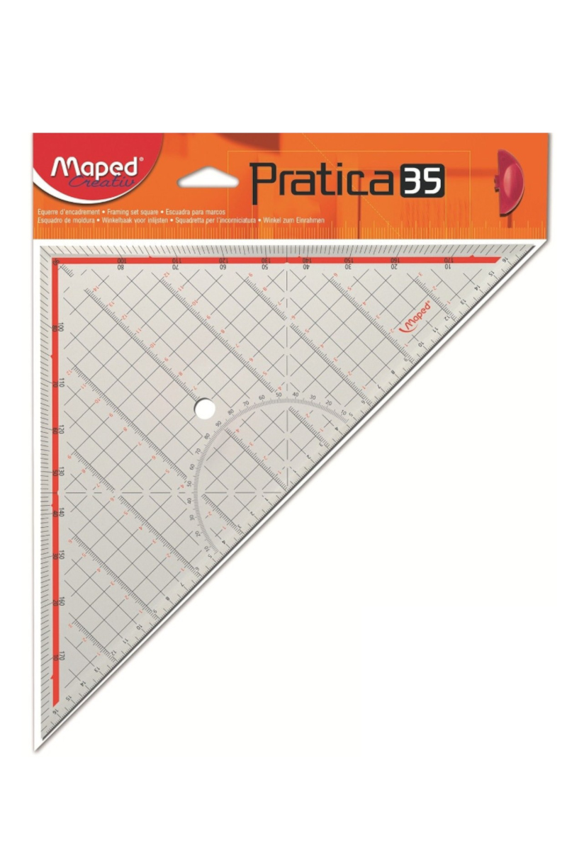 Maped Pratica 35 Tekstil Gönyesi