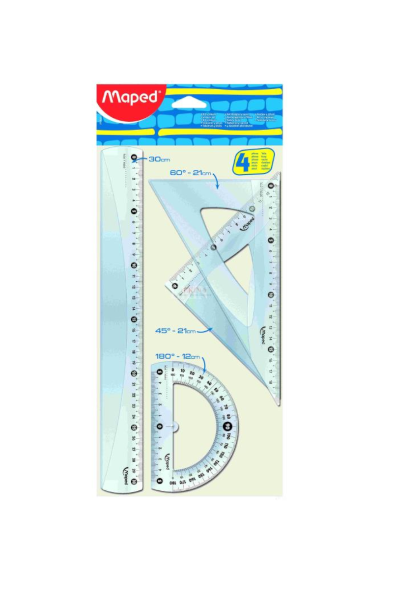 Maped 4'lü Start 30 Cm Maxı Set Mpd-242830