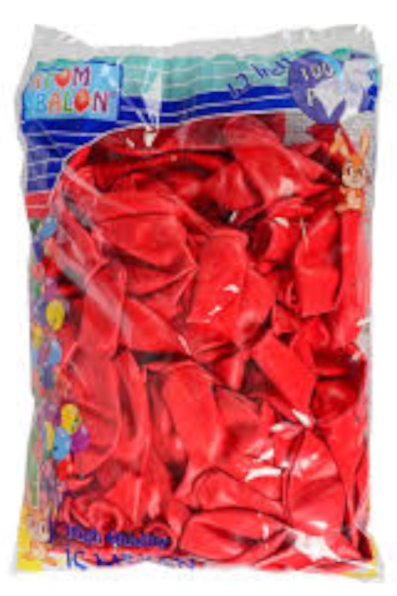 Atom Balon İç Dekorasyon 100'lü