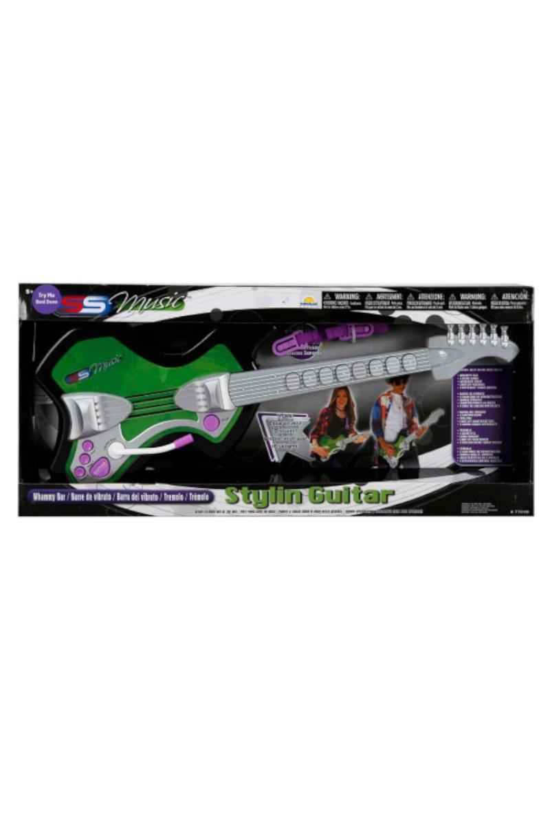 Kutulu Elektronik Gitar Yeşil