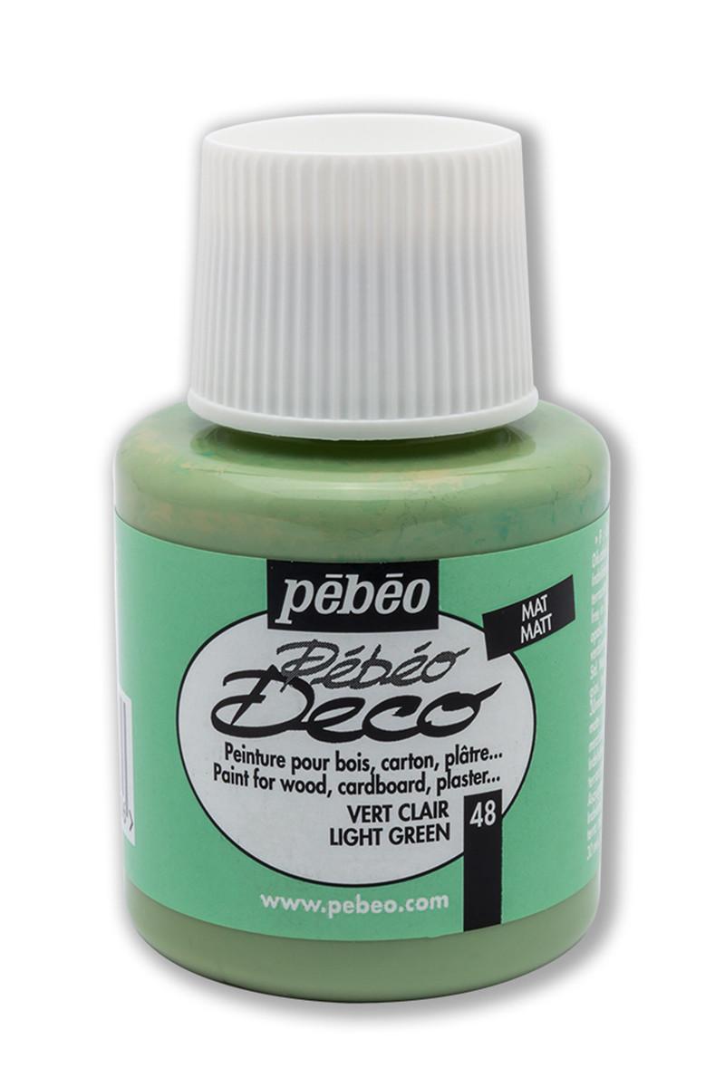 Pebeo Deco Ahşap Boya Mat 110ml Light Green 48