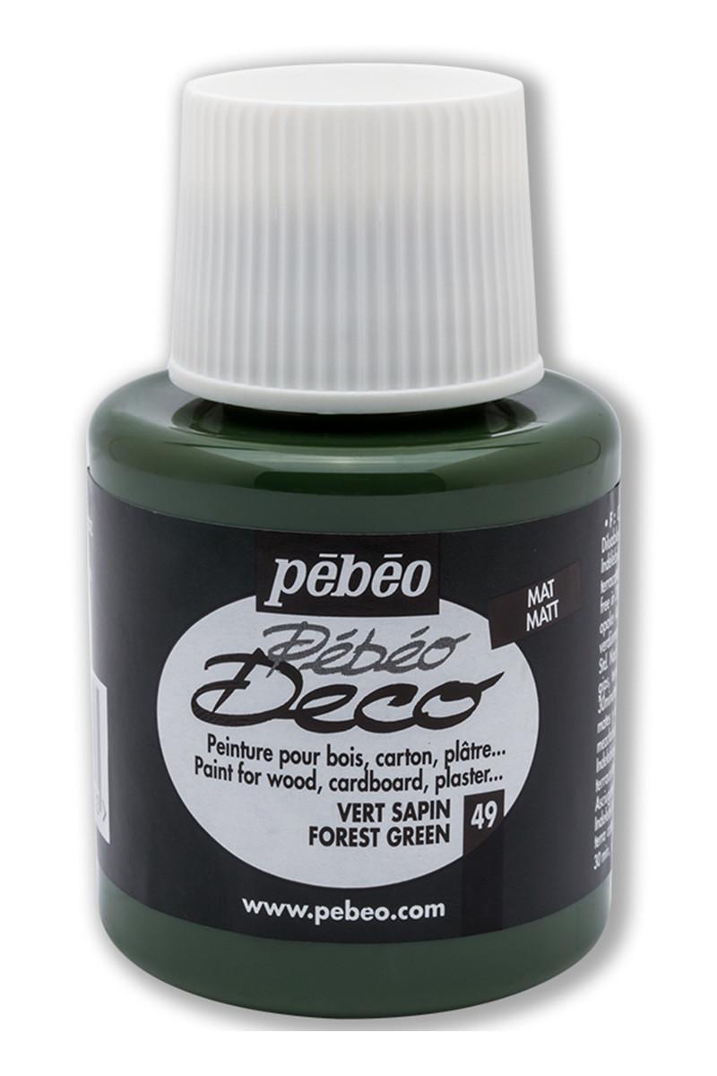 Pebeo Deco Ahsap Boya Mat 110ml Forest Green 49